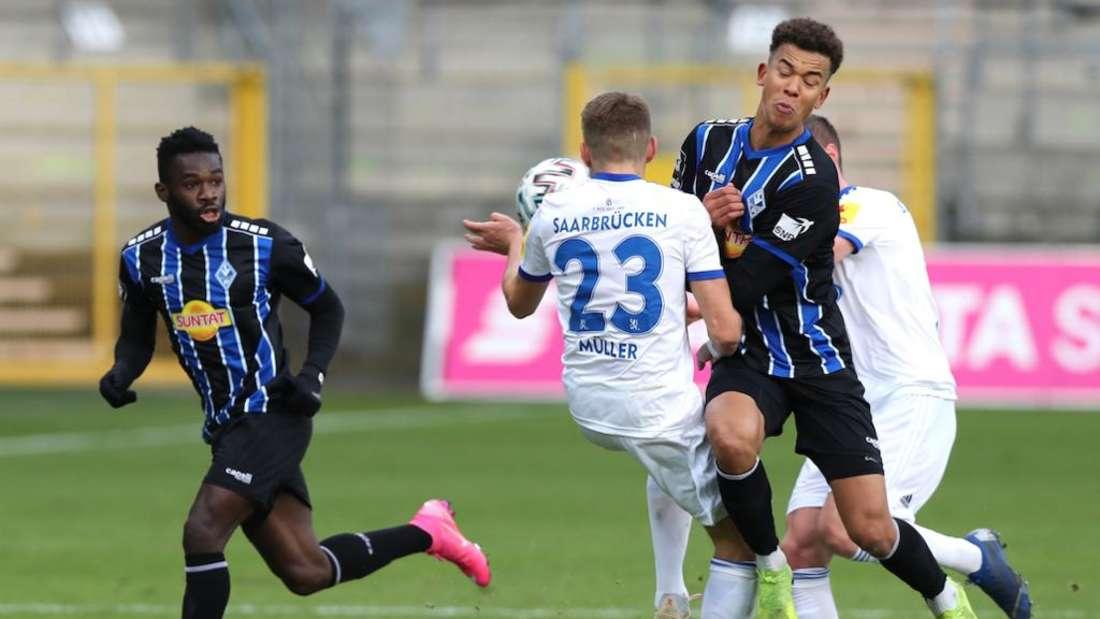 Das Hinspiel in Mannheim hat der SV Waldhof mit 4:1 gewonnen.
