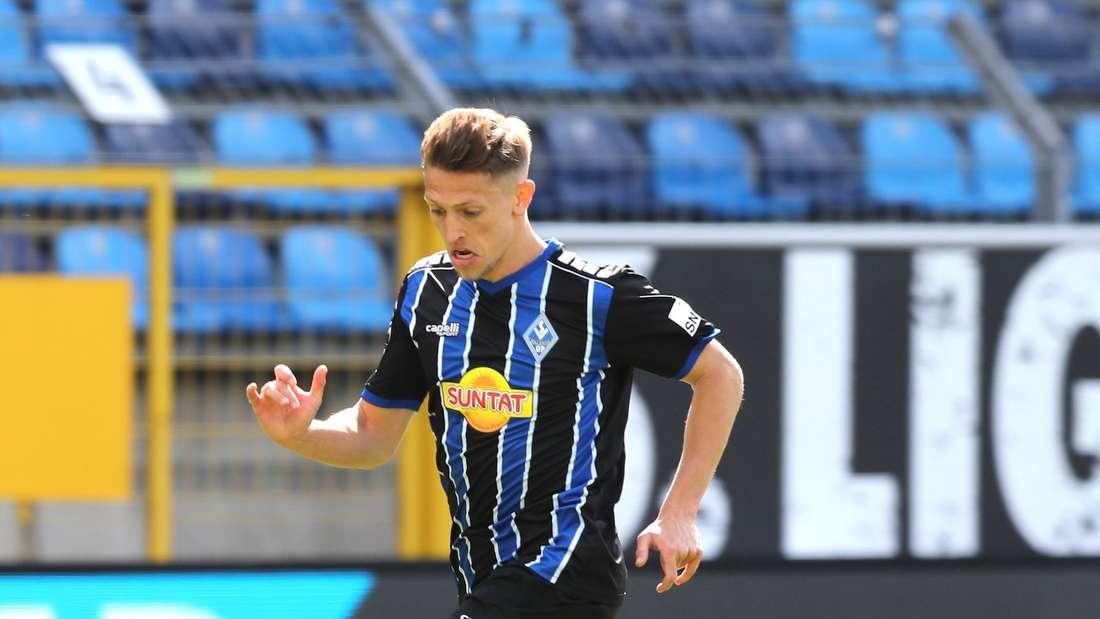 Jan-Hendrik Marx zählt beim SV Waldhof zu den Leistungsträgern.
