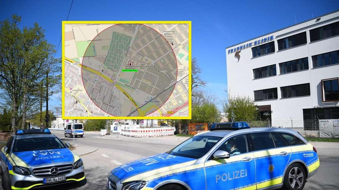 Fliegerbombe in Mannheim gefunden. Der Bereich wird evakuiert