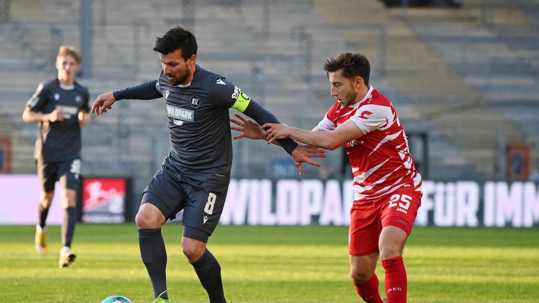 Der Karlsruher SC hat einen Heimsieg gegen Würzburg verpasst.