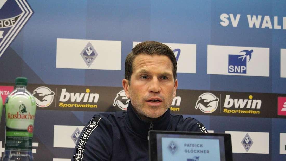 Patrick Glöckner will am Samstag mit dem SV Waldhof 1860 München schlagen.