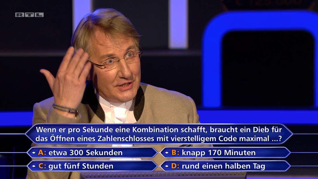 Martin Fohl gestikuliert