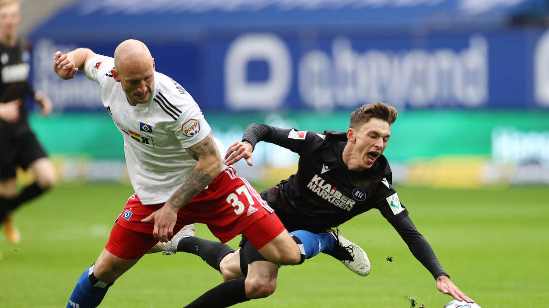Der Karlsruher SC ist heute zu Gast beim Hamburger SV.