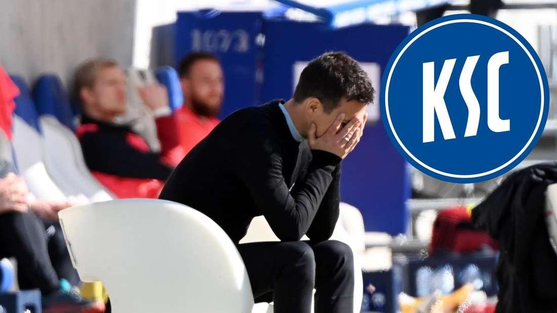 KSC-Trainer Christian Eichner muss zahlreiche Spieler ersetzen.