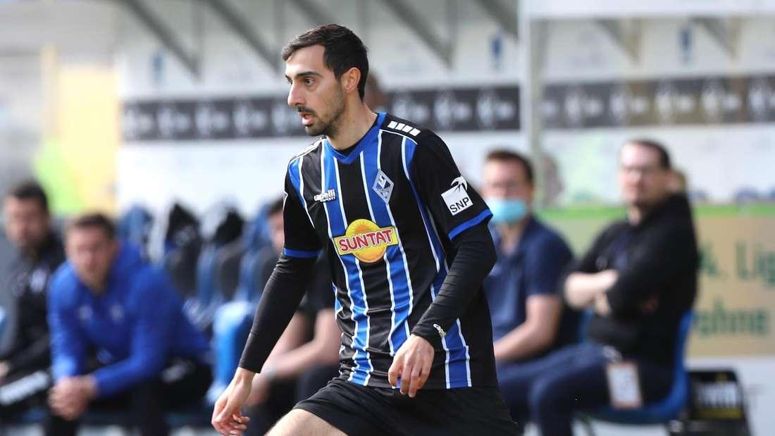 3. Liga: SV Waldhof Mannheim gegen FSV Zwickau