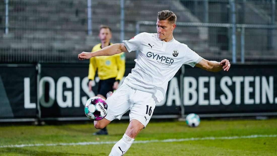 Kevin Behrens kann den SV Sandhausen ablösefrei verlassen.