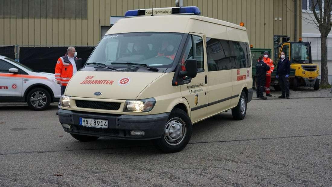 Mannheims mobile Impfteams im Einsatz (Archivbild).