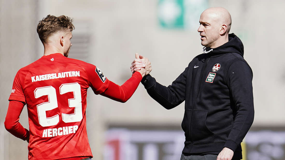 Der 1. FC Kaiserslautern schlägt den KFC Uerdingen.