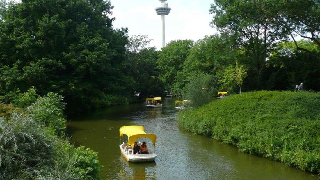 Ab Montag (17. Mai) fahren die Gondolettas im Mannheimer Luisenpark wieder.