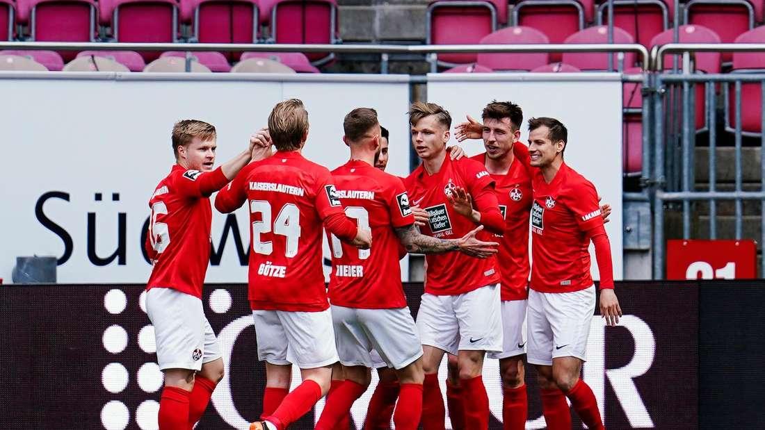 Der 1. FC Kaiserslautern steckt in der 3. Liga im Abstiegskampf.