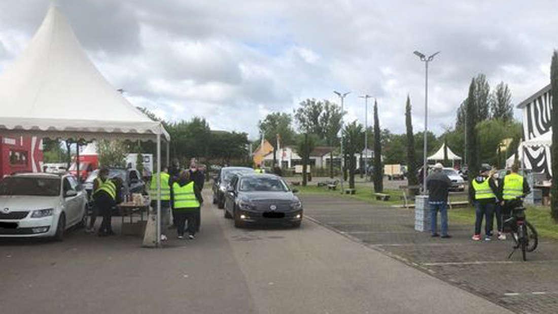 Die Drive-Thru-Impfaktion in Speyer wird wiederholt.