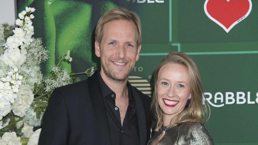 Moderator Jan Hahn und seine Freundin Constanze Wendrich