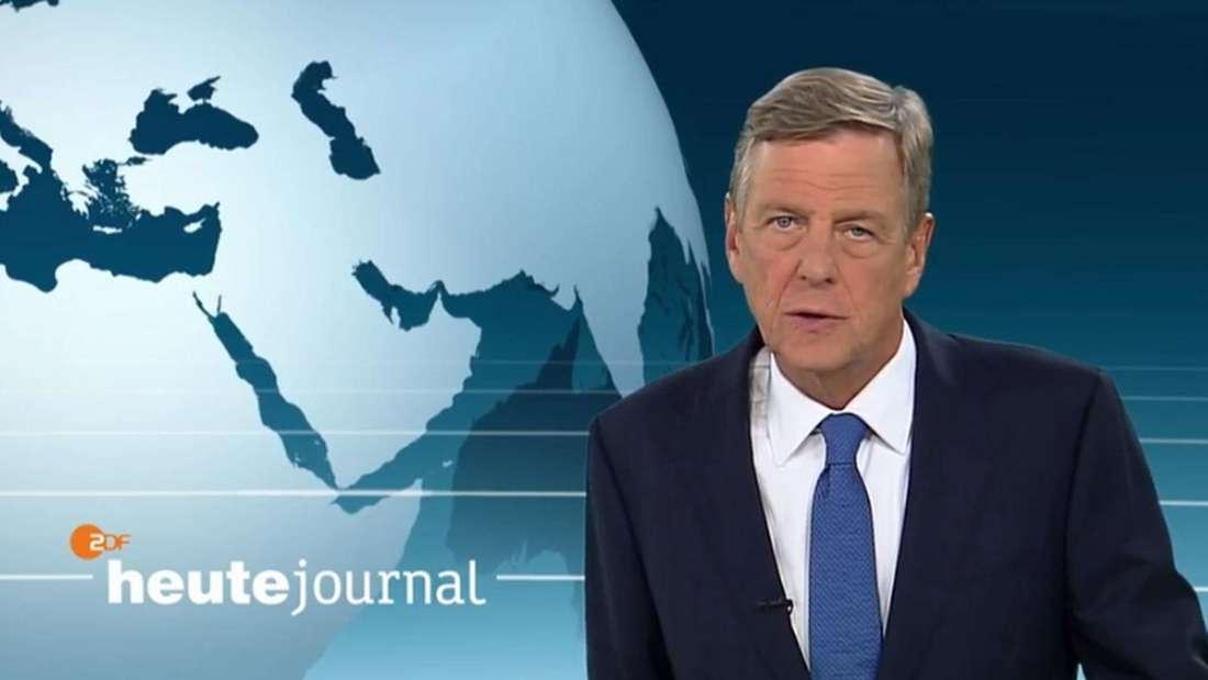 """Claus Kleber moderiert das """"Heute Journal"""""""