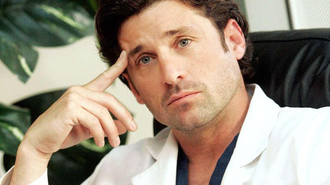 """Patrick Dempsey in der Serie """"Grey's Anatomy""""."""