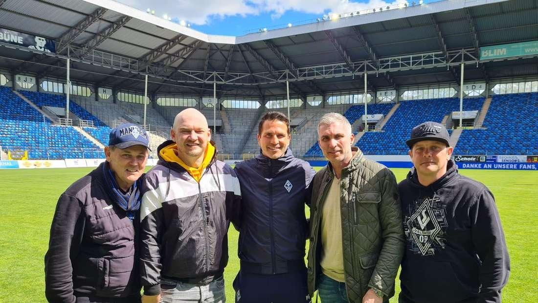 (v.l.n.r.) Bernd Beetz, Markus Kompp, Patrick Glöckner, Jochen Kientz und Christian Beetz.