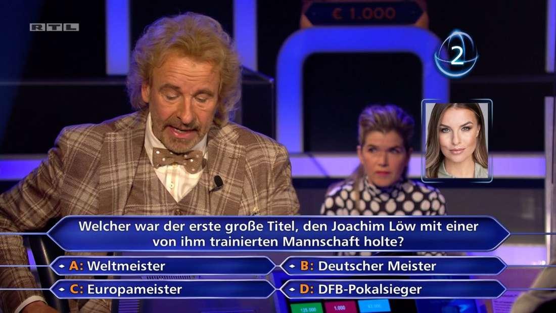 Wer wird Millionär: Thomas Gottschalk schockiert beim Promi-Special mit frauenverachtendem Spruch.