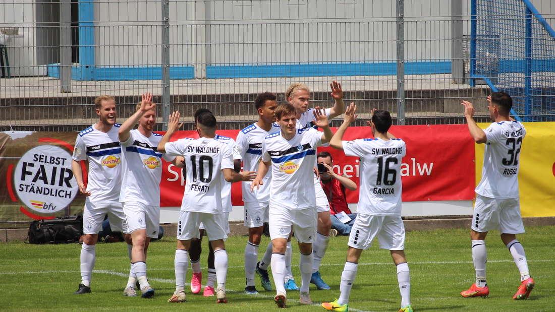 Der SV Waldhof Mannheim ist Badischer Pokalsieger 2021.