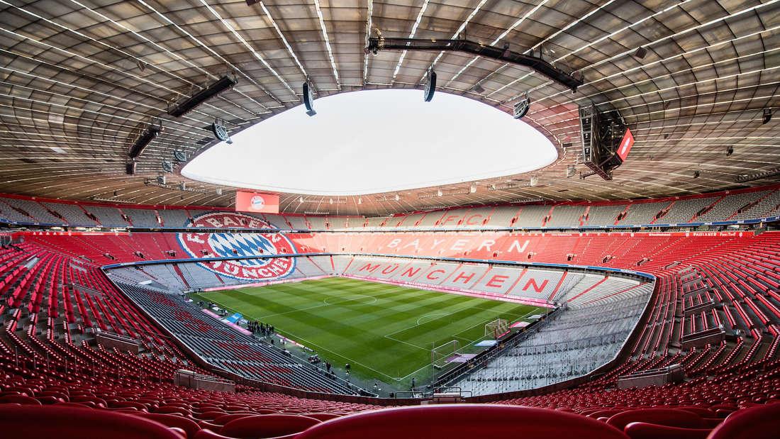 Die Allianz Arena in München ist einer der Austragungsorte bei der EM 2021.