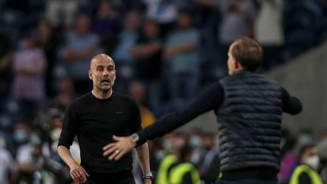 Pep Guardiola hat mit Manchester City das Finale der Champions League gegen Chelseas Thomas Tuchel verloren.
