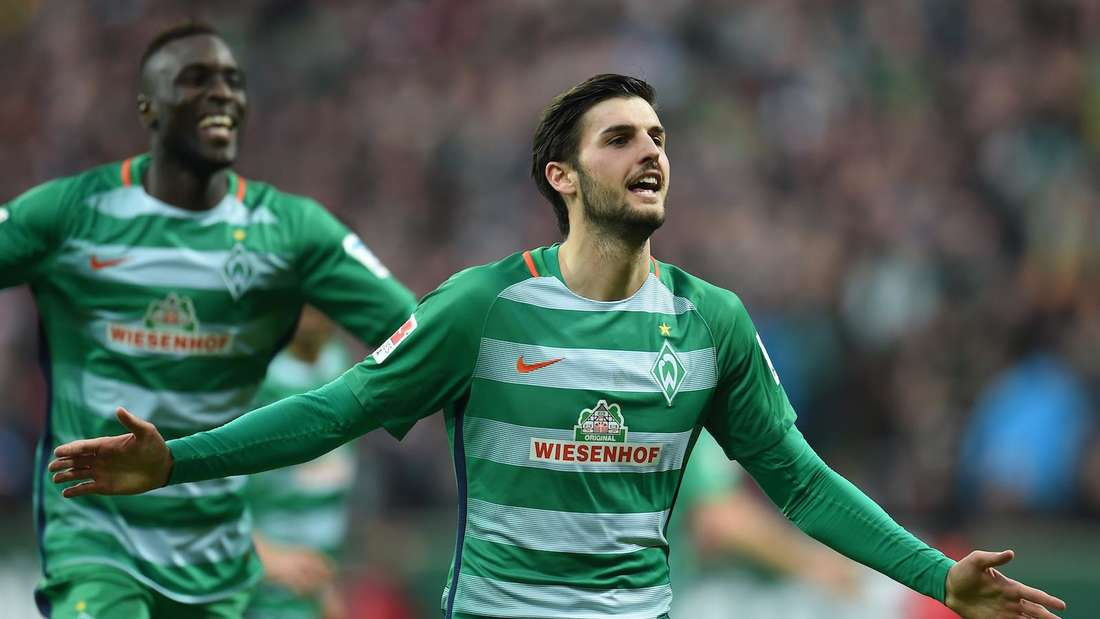 Florian Grillitsch im Trikot des SV Werder Bremen.