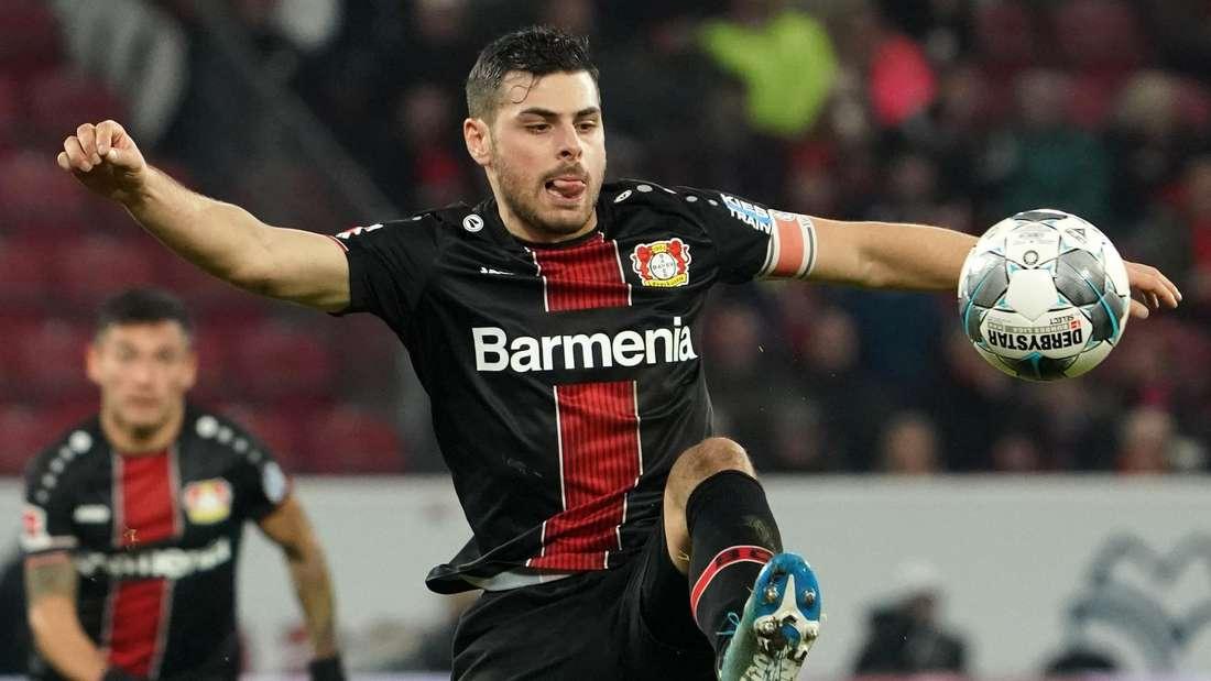 Kevin Volland spielt von 2016 bis 2020 für Bayer 04 Leverkusen.