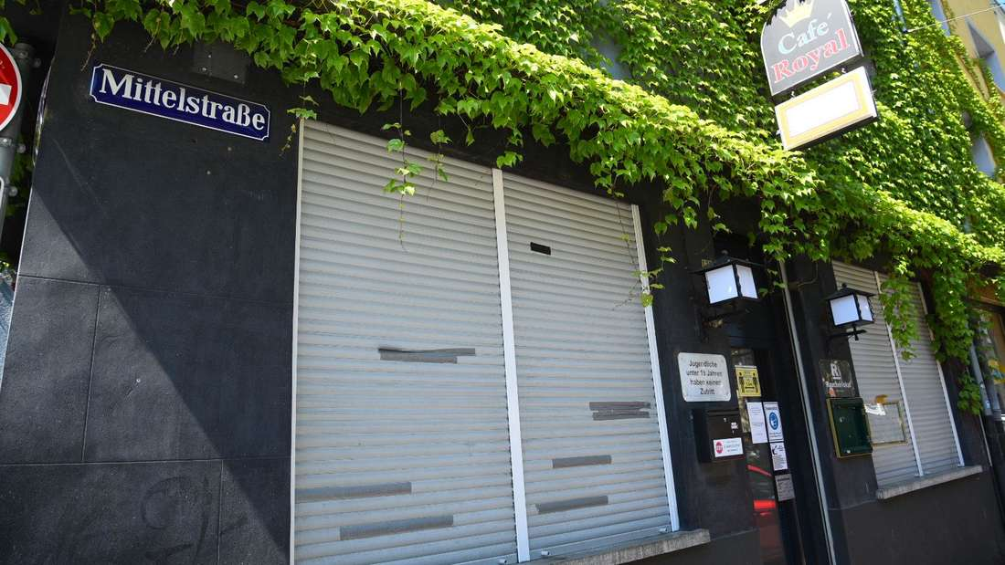 In der Mittelstraße in der Mannheimer Neckarstadt-West wurde der Gastwirt (43) dieser Kneipe schwerverletzt gefunden.