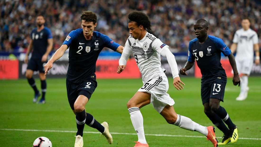Deutschland trifft im ersten Gruppenspiel der EM auf Weltmeister Frankreich.
