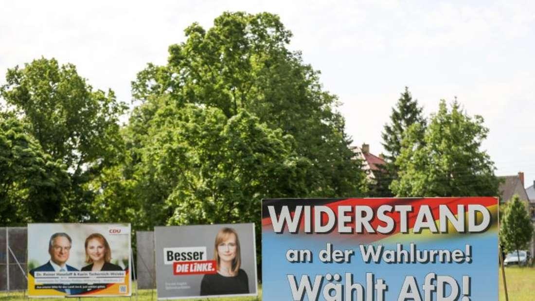 Wahlplakate