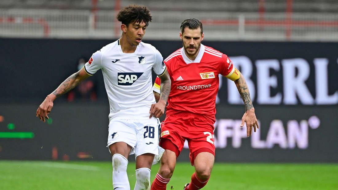 Chris Richards (li.) ist bis zum Sommer an die TSG Hoffenheim ausgeliehen.