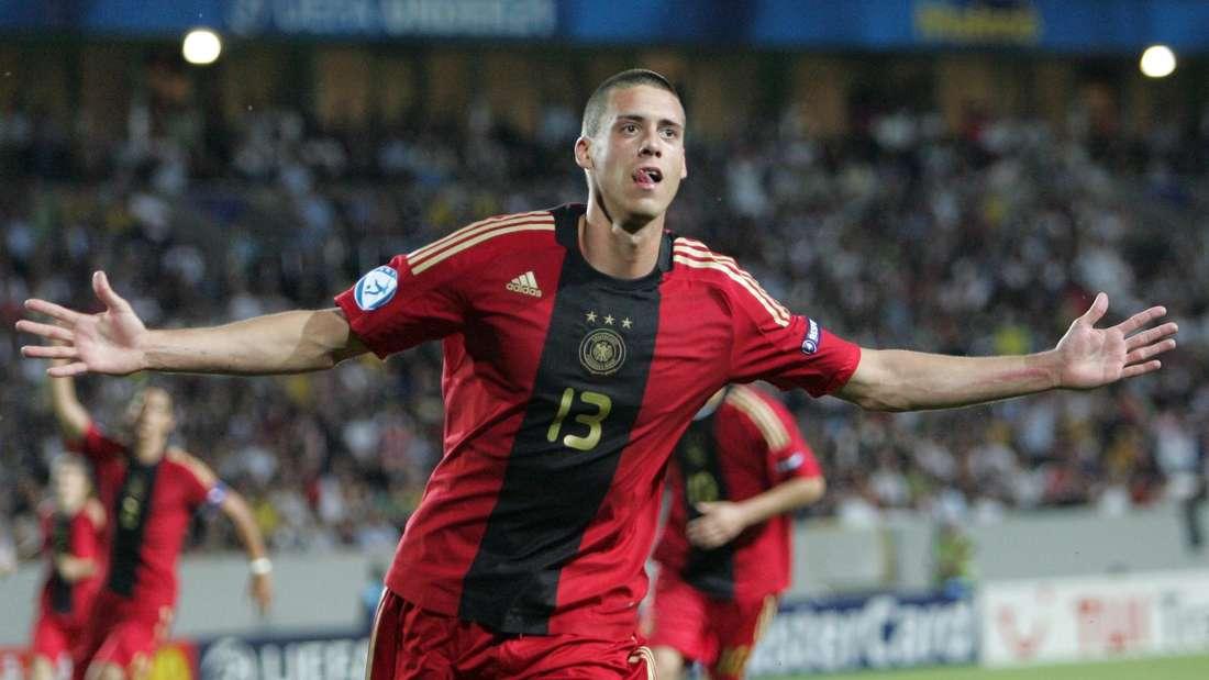 Sandro Wagner holt mit der U21 2009 den EM-Titel.