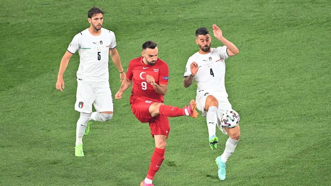 EM-Auftakt: Türkei gegen Italien.