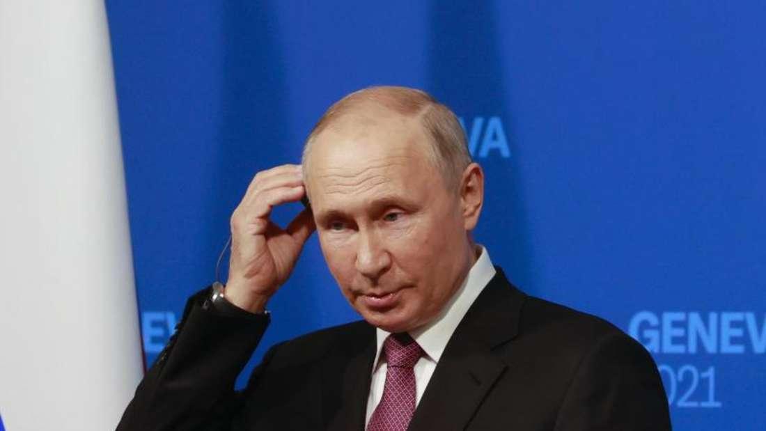 Biden Putin Gipfel in Genf
