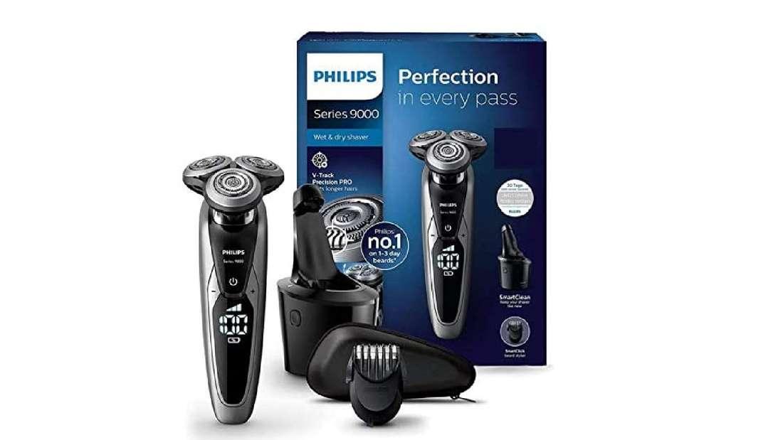 Philips Series 9000 Elektrischer Nass- und Trockenrasierer S9711/31