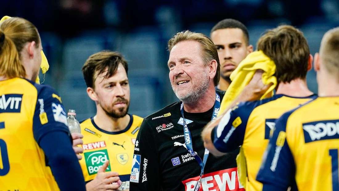 Martin Schwalb steht vor seinem letzten Spiel als Trainer der Rhein-Neckar Löwen.