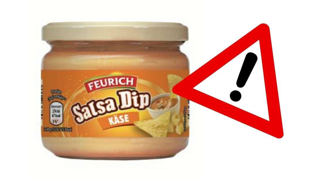 """Der Artikel """"Feurich Salsa Dips"""" - Käse mit dem Mindesthaltbarkeitsdatum vom 30.11.2022 befindet sich im Rückruf - in dem Dip könnten Glassplitter enthalten sein."""