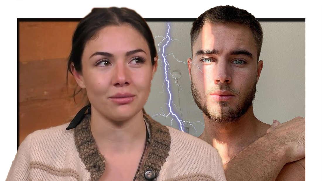 """Nach der ersten """"Die Alm""""-Folge rechnet Aaron mit Katharina Eisenblut ab. (Fotomontage)"""