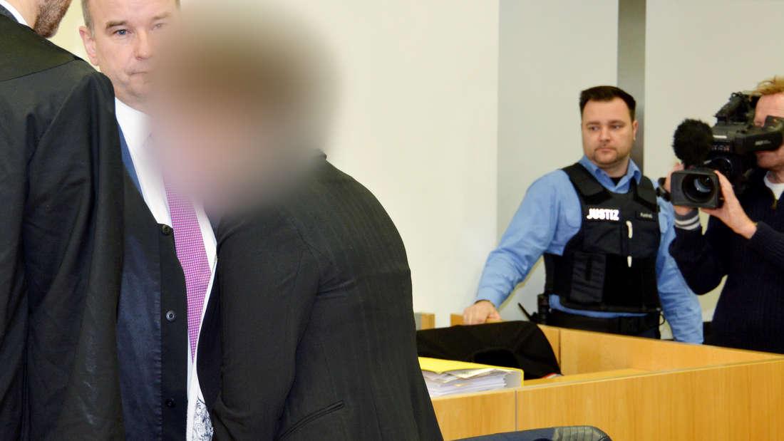 Szenen aus dem Gerichtssaal in Hanau (Archivfoto 2017)