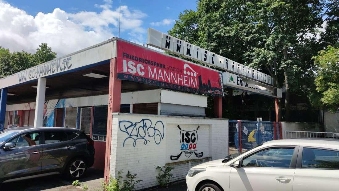 Das Eisstadion in Mannheim wird abgerissen