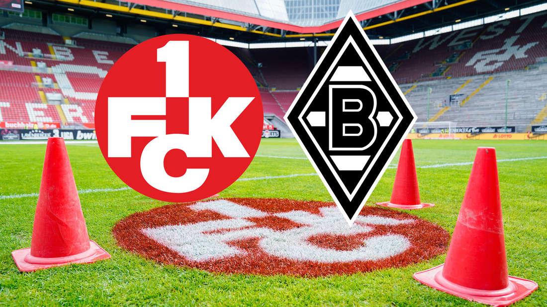 Der 1. FC Kaiserslautern trifft im DFB-Pokal auf Borussia Mönchengladbach. (Fotomontage)