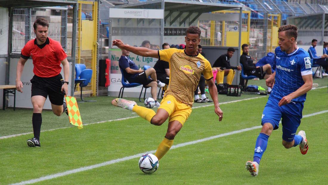 Der SV Waldhof verliert mit 1:2 (0:0) gegen Darmstadt 98.