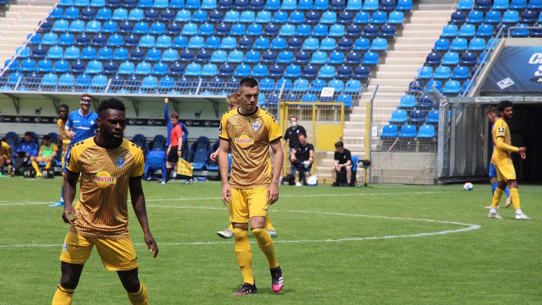 Testspieler Marijan Cavar ist gegen Darmstadt für eine halbe Stunde zum Einsatz gekommen.