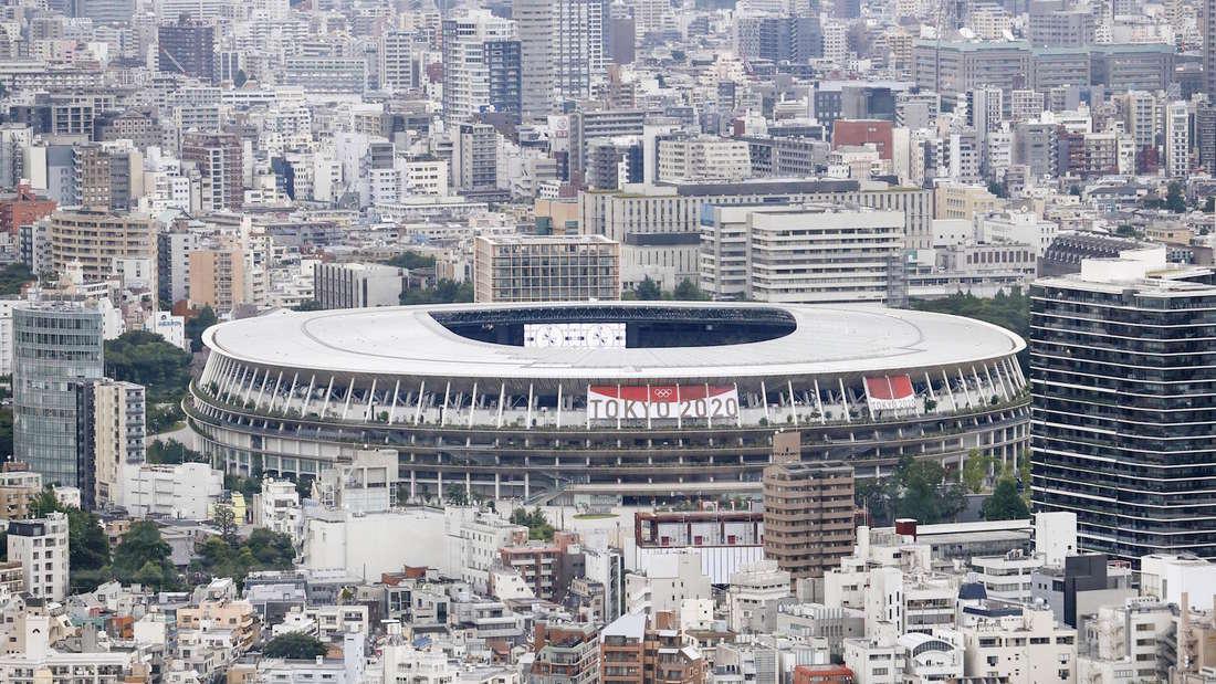 Das Nationalstadion in Tokio ist ein Austragungsort bei den Olympischen Spielen.