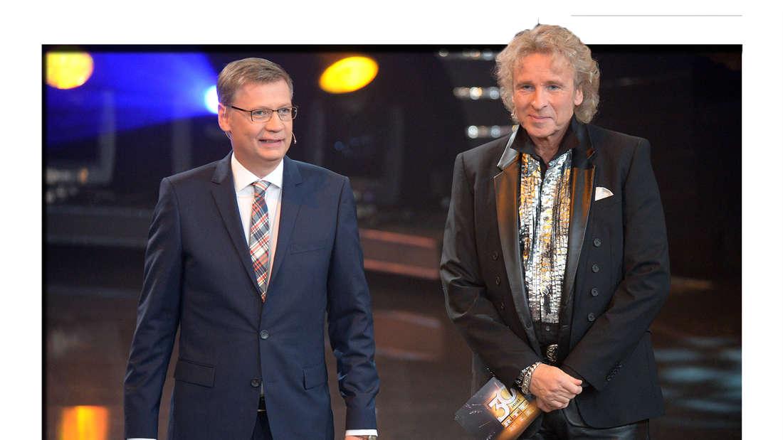Günther Jauch und Thomas Gottschalk (Fotomontage)