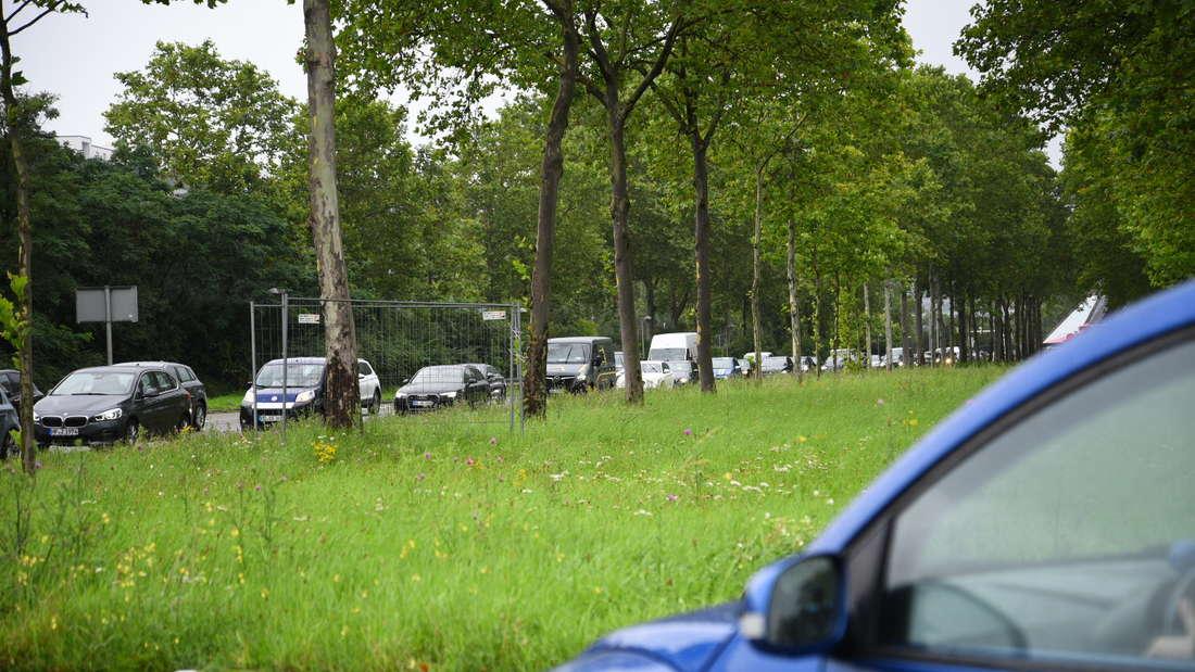 Verkehrschaos nach Starkregen in Mannheim