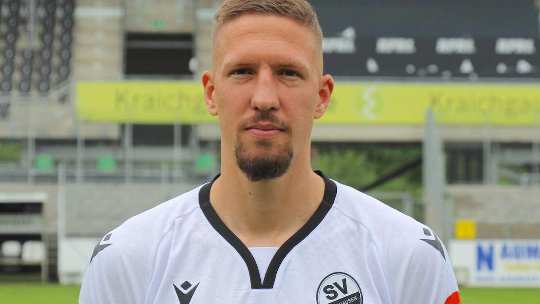 Janik Bachmann vom SV Sandhausen