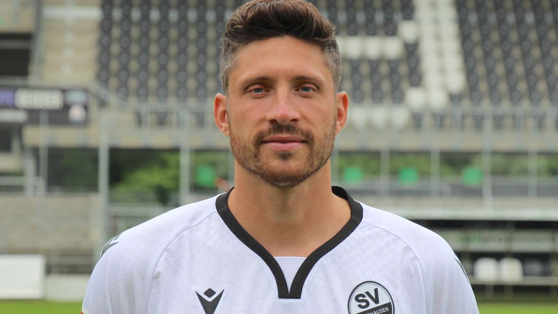 Tim Kister vom SV Sandhausen