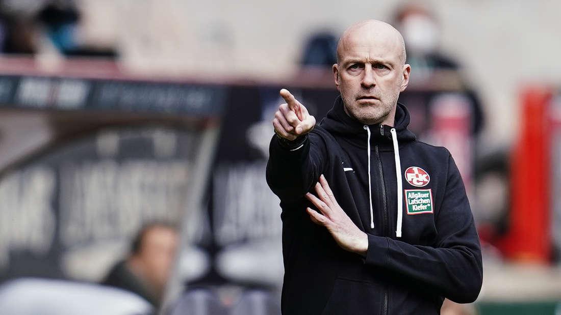 Trainer Marco Antwerpen befindet sich mit dem FCK in der Vorbereitung.