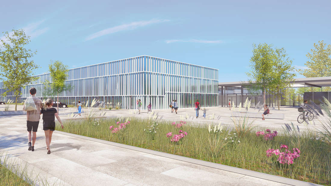 Das Herzogenriedbad soll um eine Schwimmhalle zum Kombibad erweitert werden.