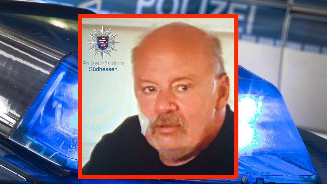 Wilhelm Spiegel (60) wird seit dem 12. Juli 2021 vermisst. Die Polizei Heppenheim bittet die Bevölkerung um Mithilfe.