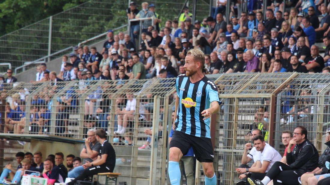 Marc Schnatterer führt den SV Waldhof zum Testspiel-Sieg gegen Gießen.